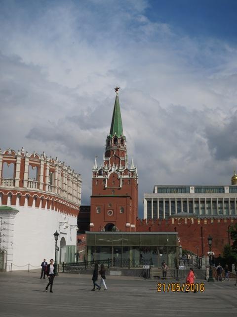 Trinity tower entrance