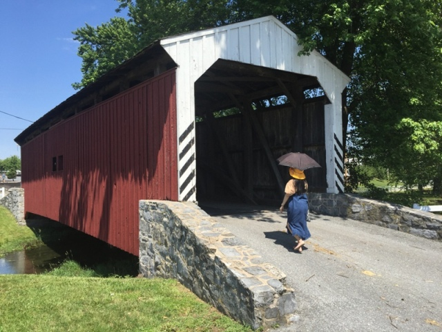 Amish Village covered bridge11