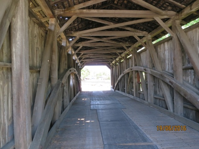 Amish Village covered bridge7