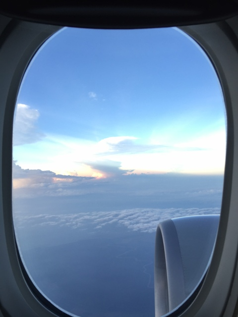 Flying out of SG3
