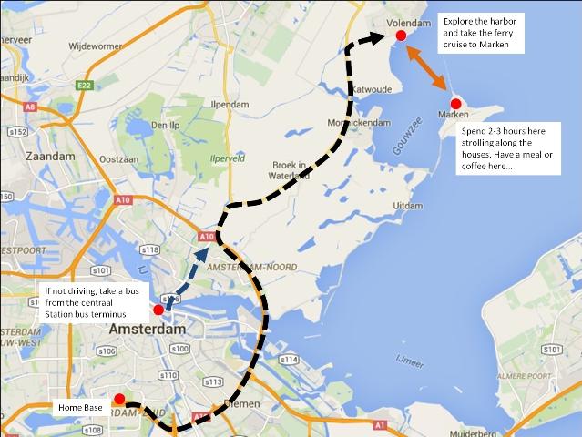 Getting to Volendam