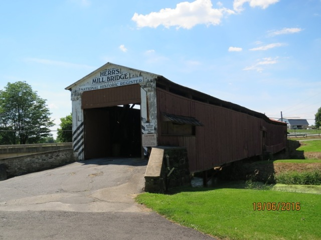 Herrs Mill covered bridge2