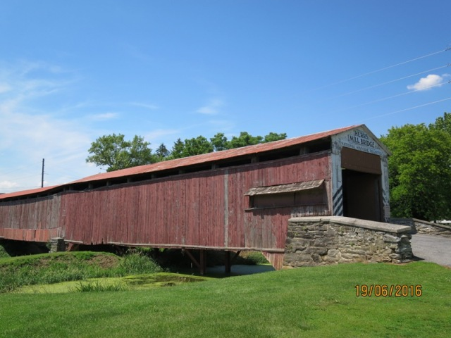 Herrs Mill covered bridge9