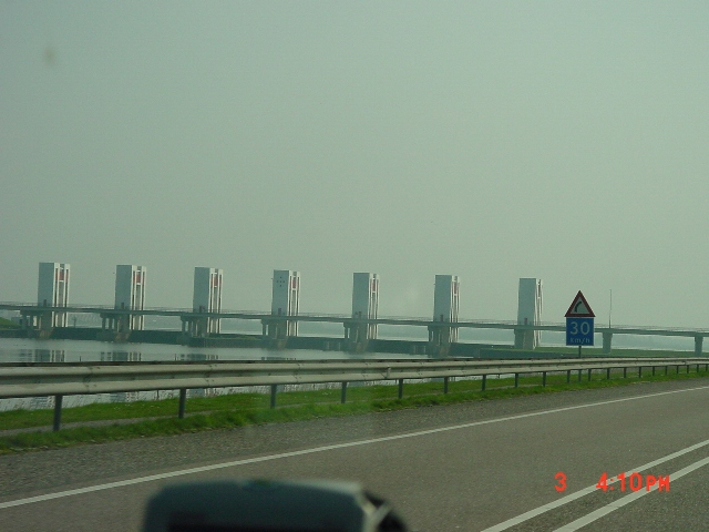 Drive the formerZuidersee