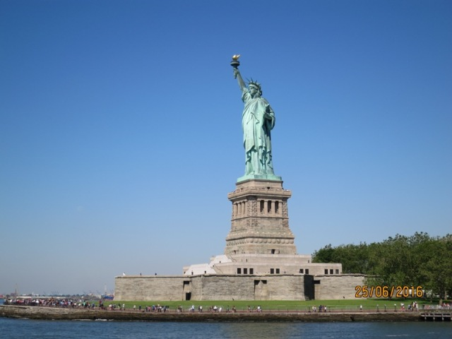 Ride to Statue of Liberty11