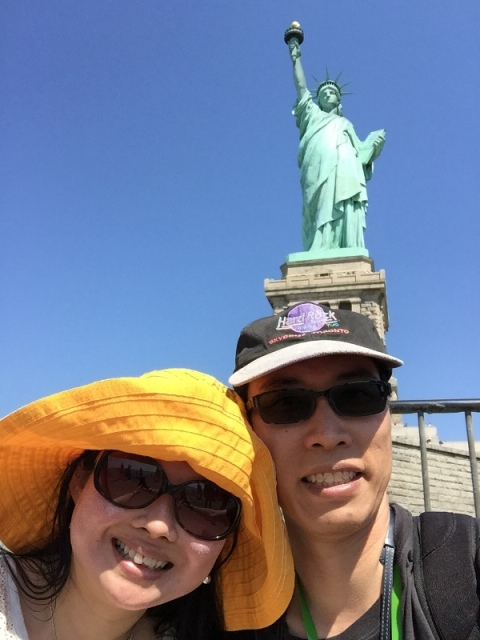 Statue of Liberty Selfie6