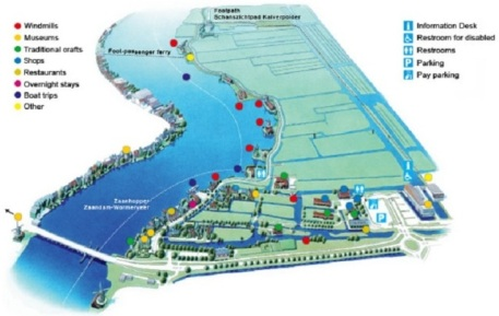 Zaanse Schan map