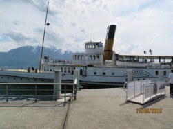 Boarding the Lake Geneva cruise1