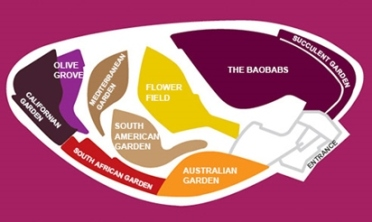 Flower Dome Map