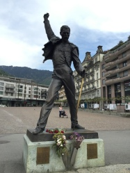 Freddie Mercury memorial at Montreux1