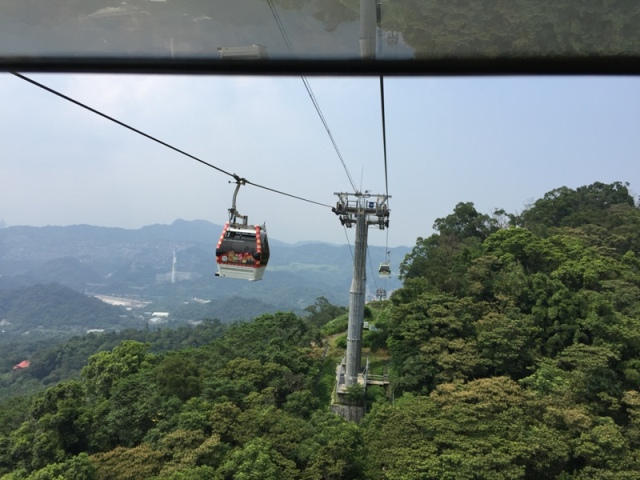 Ride back down from Maokong22