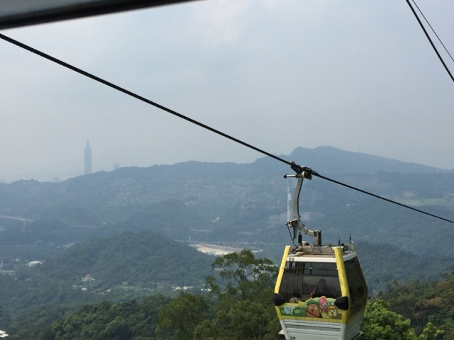 Ride back down from Maokong27