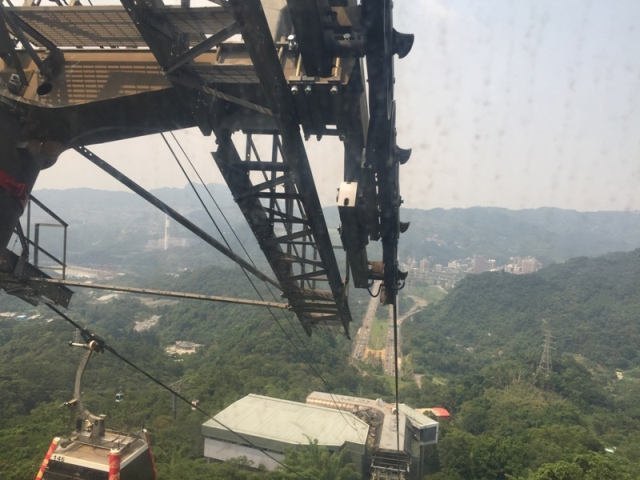 Ride back down from Maokong30