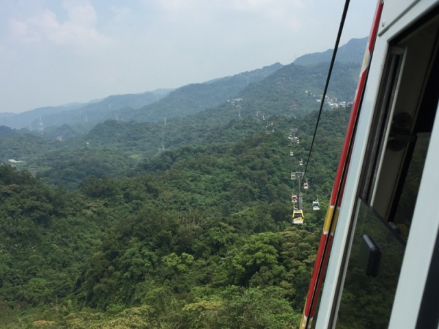 Ride back down from Maokong39