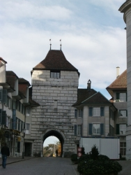 Solothurn Basel tower