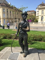 Statue of Charlie Chaplin Vevey