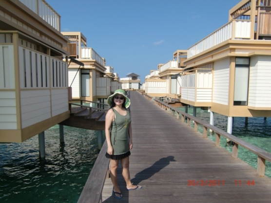 In-Ocean Villas walkway