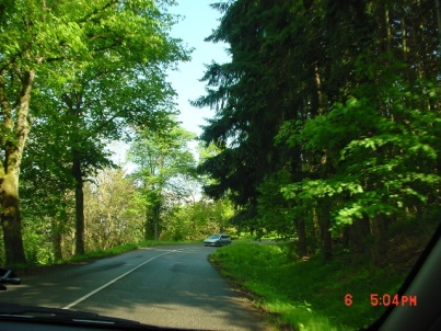 A beautiful drive to Haut Barr