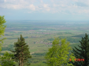 Lookout over Saverne