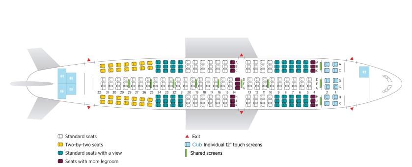 airplane-seating-plan