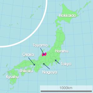 toyama-japan-map
