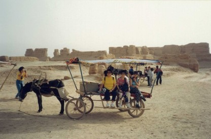 Gaochang ancient city1