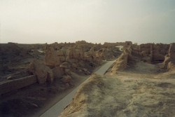 Jiaohe ancient city13