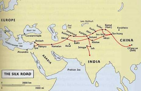 Silk road map5