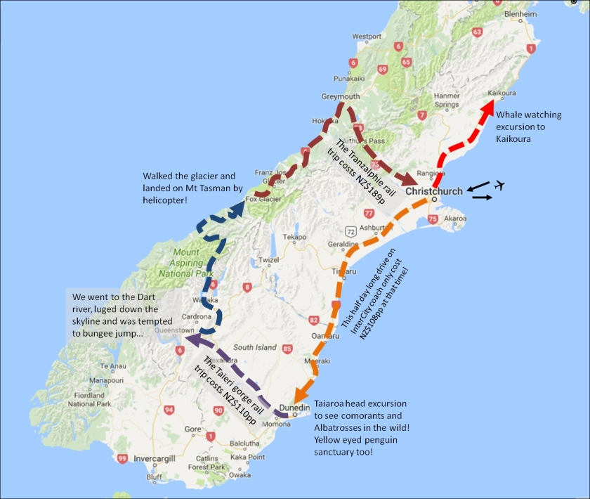 South Island Journey