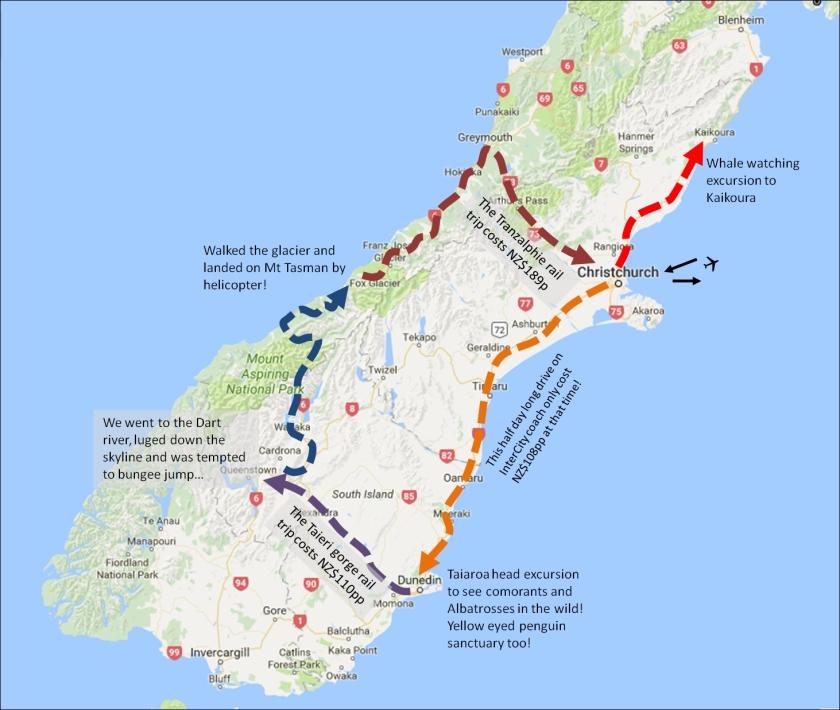 South Island Journey