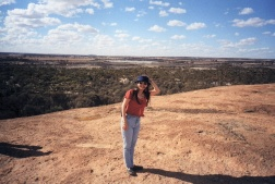 Top of Wave Rock 2