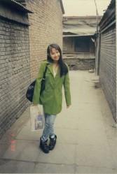Beijing Hutong alley