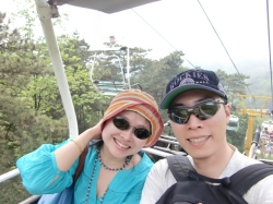 Chairlift to Greatwall5