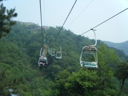 Chairlift to Greatwall9