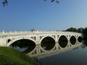 Japanese Garden - connecting bridge8