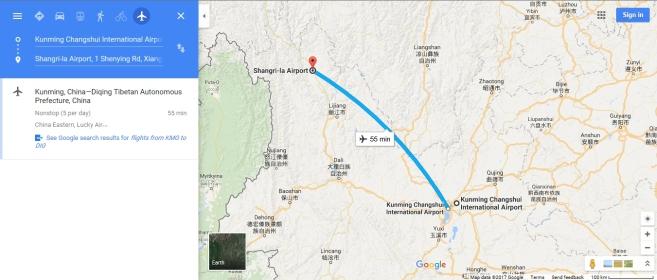Kunming to Shangrila
