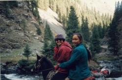 Nanshan horse ride2