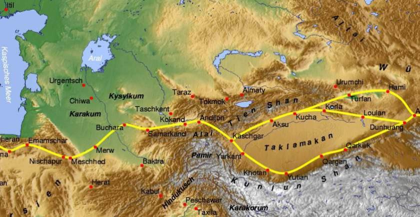Silk Road Tianshan
