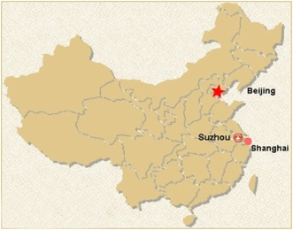 Suzhou location