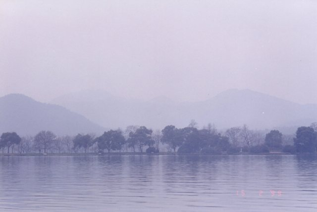 West Lake (西湖) in Hangzhou
