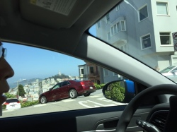 Entrance to Lombard street
