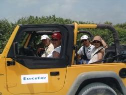 Jeep Drive Cozumel