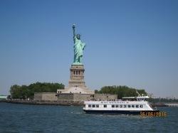 Sailing past Liberty 2