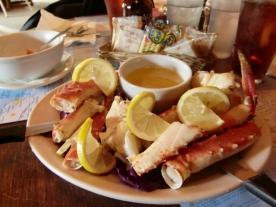 Talkeetna Crab lunch1