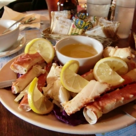 Talkeetna Crab lunch1