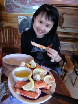 Talkeetna Crab lunch3
