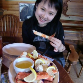 Talkeetna Crab lunch3