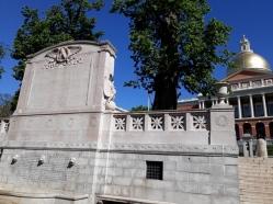 Boston Common war memorial 1