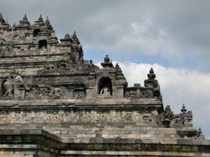 Borobudur - ground level 9