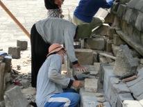 Borobudur - Restorations2